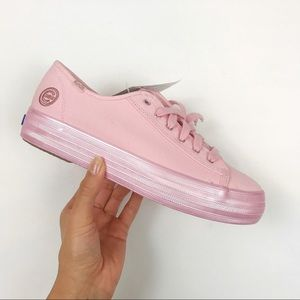 Keds Chicago Cubs Pink Triple Kick